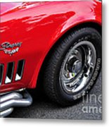 1968 Chevrolet Corvette Stingray Metal Print