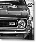 1968 Chevy Camaro Ss 350 Metal Print