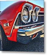 1968 Chevy Chevelle Ss 396 Metal Print