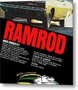 1968 Dodge Charger R/t - Ramrod Metal Print
