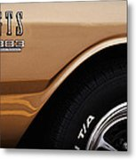 1968 Dodge Dart Gts 383 Four Barrel Metal Print