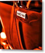 1968 Hemi Dodge Charger Metal Print