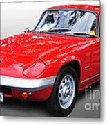 1968 Lotus - Elan S4 -  Full View Metal Print
