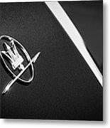 1968 Maserati Ghibli Emblem Metal Print