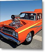 1968 Plymouth Road Runner Metal Print