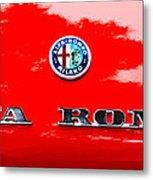 1969 Alfa Romeo Spider Veloce Iniezione Emblem Metal Print