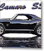 1969 Camaro Ss Metal Print