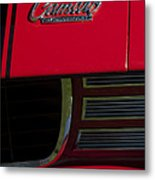 1969 Chevrolet Camaro Rally Sport Emblem Metal Print