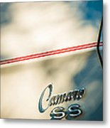 1969 Chevrolet Camaro Rs-ss Indy Pace Car Replica Side Emblem Metal Print