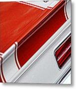 1969 Chevrolet Camaro Ss Indianapolis 500 Pace Car Rear Shot Metal Print