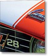 1969 Chevrolet Camaro Z-28 Emblem Metal Print