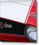 1969 Chevrolet Camaro Z28 Metal Print