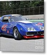 1969 Chevrolet Corvette Race Car Metal Print