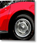 1969 Chevrolet Corvette Stingray - Vi Metal Print
