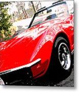 1969 Chevrolet Corvette Stingray - X Metal Print