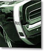 1969 Dodge Charger 500 Metal Print