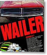 1969 Dodge Charger R/t Metal Print