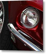 1969 Ford Mustang Mach 1 Front Metal Print