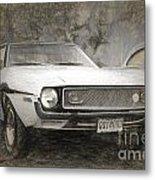 1969 Ford Mustang Metal Print