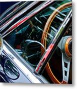 1969 Lamborghini Islero Steering Wheel Emblem Metal Print