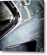 1969 Mustang Mach 1 Emblem Metal Print