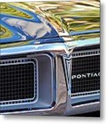1969 Pontiac Firebird 400 Grille Metal Print