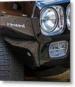 1969 Pontiac Firebird 400 Side Emblem Metal Print