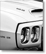 1969 Pontiac Trans Am  Metal Print