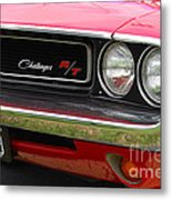 1970 Challenger Grill Metal Print