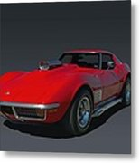 1970 Chevrolet Corvette 454 Stingray Metal Print
