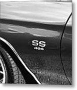 1970 Chevy Chevelle 454 Ss Bw  Metal Print