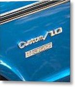 1970 Chevy Custom 350 Truck  Metal Print