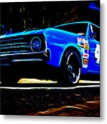 1970 Chrysler Valiant Metal Print by Phil 'motography' Clark