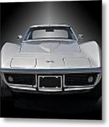1970 Corvette Stingray Studio Metal Print