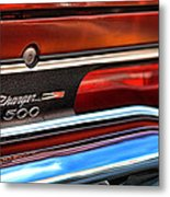 1970 Dodge Charger 500  Metal Print