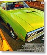 1970 Dodge Coronet Super Bee Metal Print