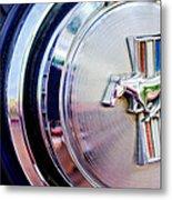 1970 Ford Mustang Mach 1 Emblem Metal Print