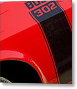 1970 Ford Mustang Sportsroof Boss 302 Emblem Metal Print