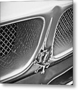 1970 Iso Rivolta Grifo Emblem  -0146bw Metal Print