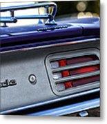 1970 Plum Crazy Purple Plymouth 'cuda Metal Print