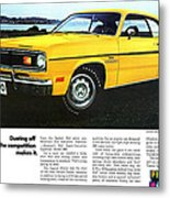 1970 Plymouth Duster 340 Metal Print