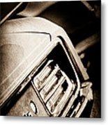 1970 Pontiac Barracuda Cuda Taillight Emblem Metal Print