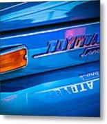 1970 Toyota Land Cruiser Fj40 Hardtop Emblem Metal Print