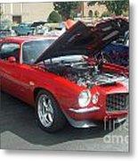 1971 Chevrolet Camaro Metal Print