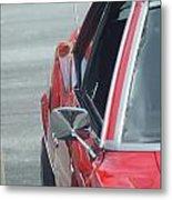 1971 Chevy Camaro Metal Print
