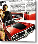 1971 Dodge Charger Rallye Metal Print