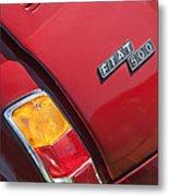 1971 Fiat 500 Jolly Taillight Metal Print