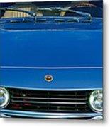 1971 Fiat Dino 2.4 Grille Metal Print by Jill Reger
