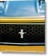 1971 Ford Mustang Mach 1 Front End Metal Print