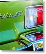 1971 Maserati Ghibli 4.9 Ss Spyder Taillight Emblem -0187c Metal Print